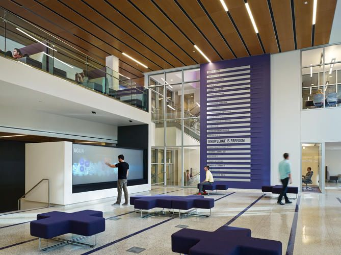 The Next Hot Trend On Campus Creating Innovation Hall Interior DesignLearning