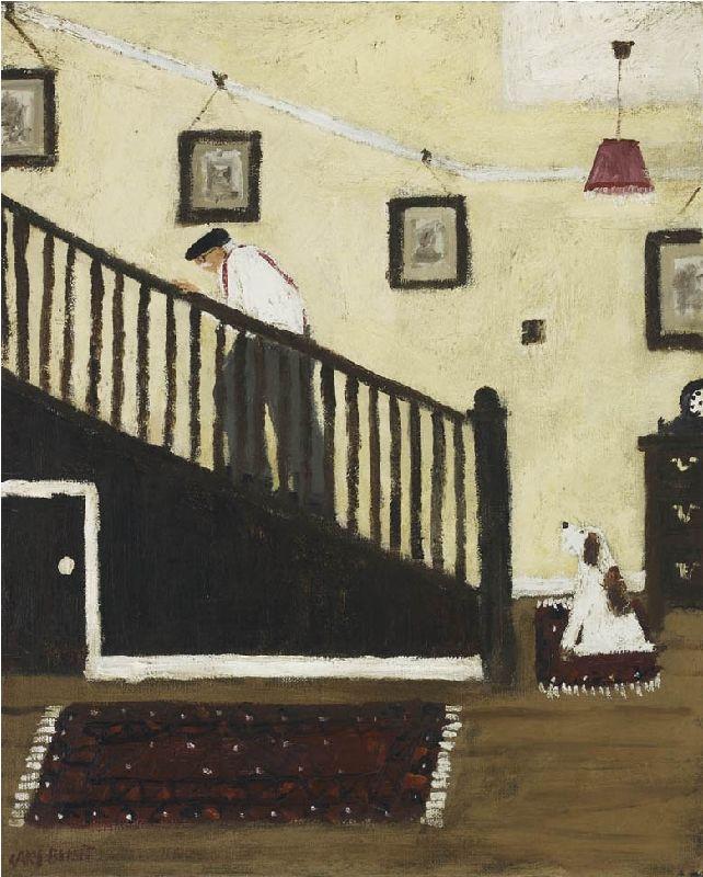 gary bunt(1957- ), afternoon nap. 20 x 16 ins. portland gallery, london, uk http://www.portlandgallery.com/exhibition/227/Gary_Bunt/item/26955