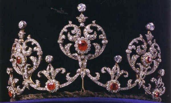 Tiara Mania: Crown Princess Margareta of Sweden's Ruby Tiara