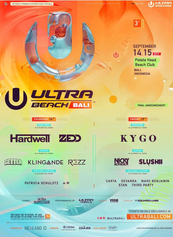 #Siminyak #Bali #UltraMusic Fest at Potato Head Beach Club  #UltraBeachBali #UltraMusicFest #UltraWMC