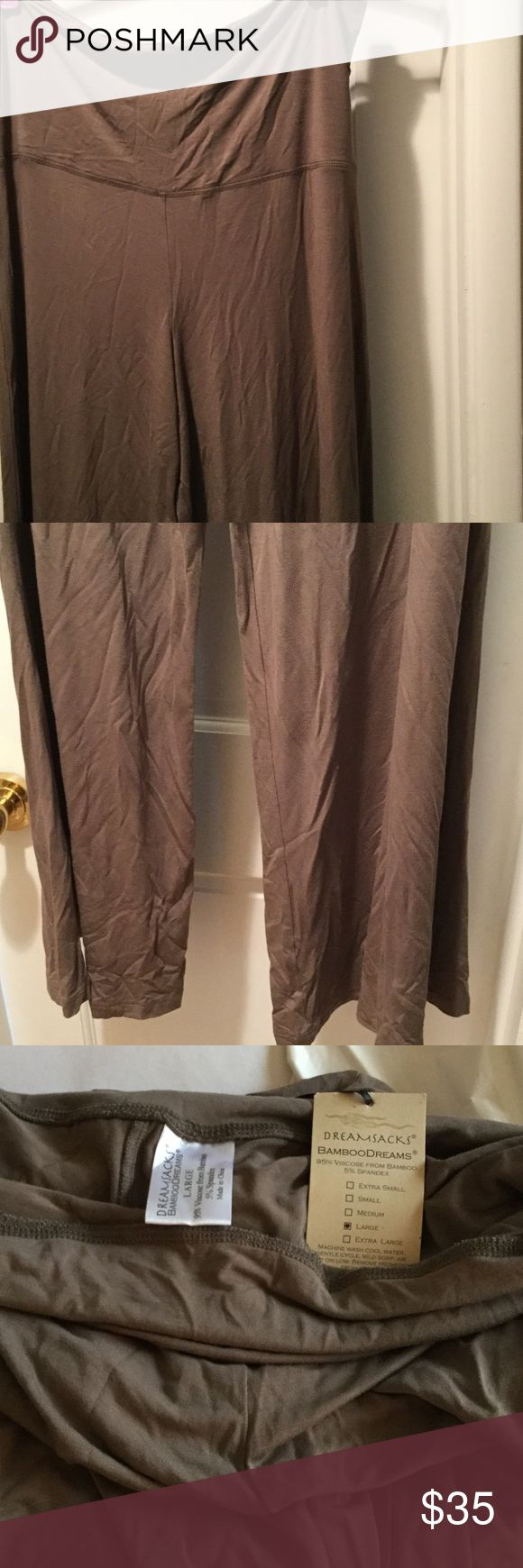 Pants Viscose, spandex lounge wide pants, wear to evening outing . Or for every day, cool and relaxed DreamSacks Pants Leggings