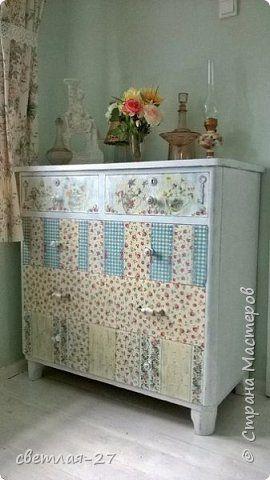 Декор предметов Декупаж Моя комната в стиле шебби шик Салфетки фото 1