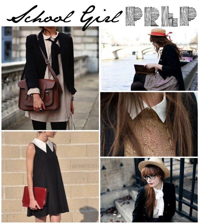 School Style Girl Style #Prep #Fashion