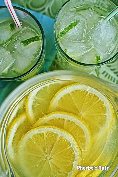 레몬에이드 레시피, 여름 음료,