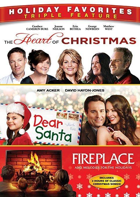 Candace Cameron Bure & Jeanne Neilson & Gary Wheeler & Jason Priestley -Heart of Christmas / Dear Santa / Fireplace