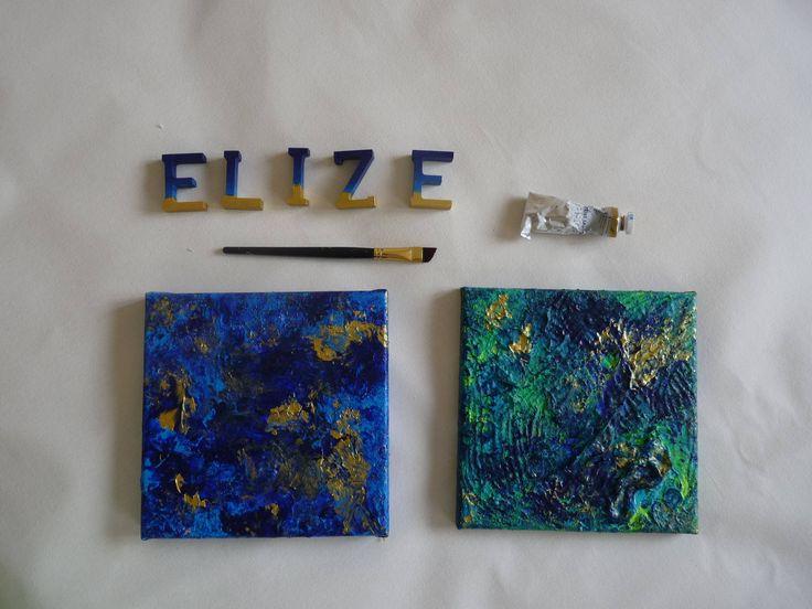 Vos murs méritent le meilleur avec cette oeuvre originale, une abstraction de peinture en relief !  Ce tableau artistique abstrait a été peint à la peinture acrylique. Les couleurs sont multiples, et associées pour une jolie harmonie de bleus dans toutes ses nuances.  Il sagit dune abstraction, en relief. Cette peinture originale a été peinte par mes soins en 2017. Signature en bas à gauche.  Dans votre intérieur, ce tableau apportera une touche doriginalité, de sérénité. Il peut tout à fait…