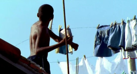 City of God rooftop. I like the idea of having a clothes line