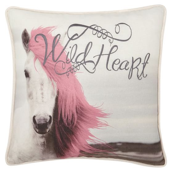 Junk Gypsy Wild At Heart Pillow Cover | PBteen