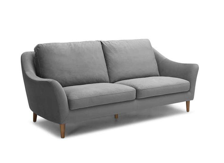 Canapé en Tissu Gris clair ALTA Achatdesign prix promo Canapé AchatDesign 899.00 €