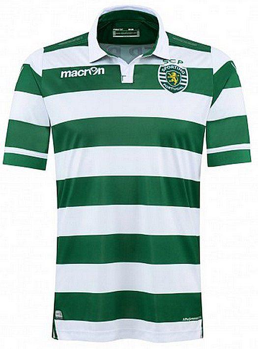 2015 – 2016 Sporting Lisbon Home Jersey