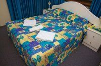 Barbados Holiday Apartments -  Two Bedroom Apartments Main Bedroom - Affordable Broadbeach Apartments