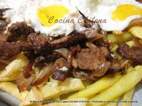 .COCINA CHILENA: CHORRILLANA