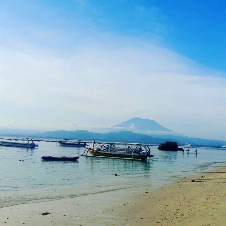 Mushrooms Bay Beach lembongan Island bali Indonesia