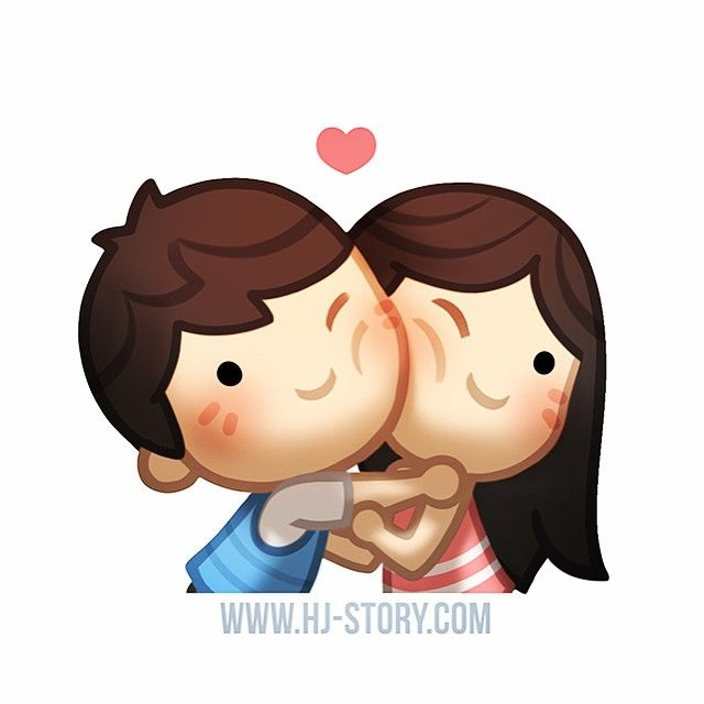 #hjstory cheekkiss time!!!