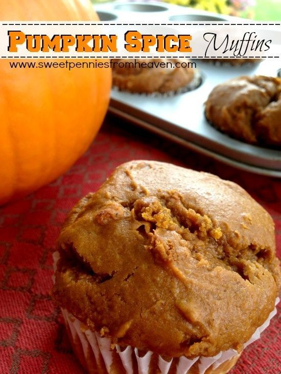 Try this easy peasy and LOW FAT Spiced Pumpkin Muffins recipe!! You won't believe how EASY it is to make these...only 2 ingredients! No oil OR eggs!! You also won't believe how delicious they are. Very moist and sweet!.