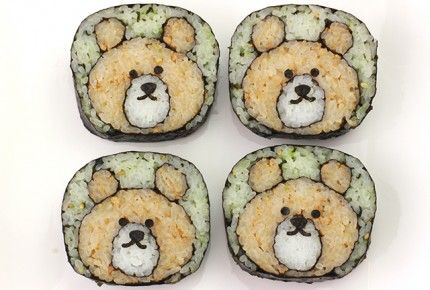 The bear sushi roll