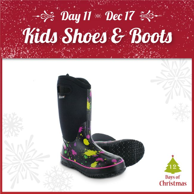 Looking for a gift for the little ones?   Look no further! We have select kid's shoes and boots @ 20-50% OFF! Check our selection in-store or in our webstore here: http://kint.ec/Day11KidsFootwear  USE CODE: XMAS11