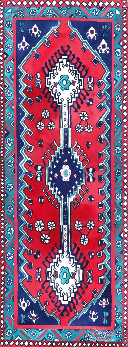 Traditional Magic Carpet Yoga Mat | Magic Carpet Yoga Mats