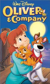 Oliver & Company, 1988. A lost and alone kitten joins a gang of dogs engaged in petty larceny in New York. X