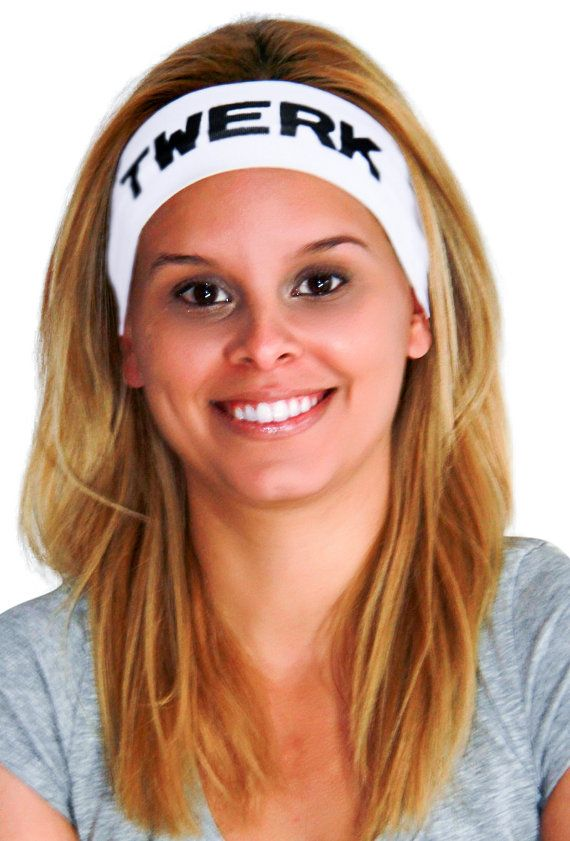 Twerk Dancing Headband  - 3 Sizes Wide- Twerk Team Headband,Twerk Dance, Boho Style Twerk