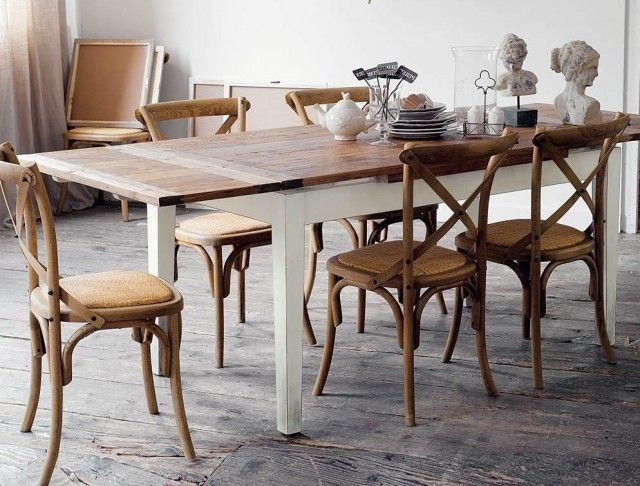 10 tables de repas rallonges deco and tables - Maison du monde salle a manger ...