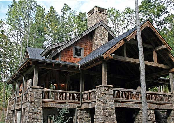 1000 images about craftsman style homes on pinterest for Mountain craftsman house