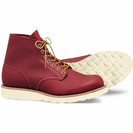 Red Wing 6-Inch Round Shoes (9105/Copper RT) $249.95