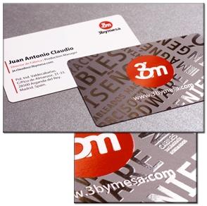 Spot UV Business Cards by PrintsPal