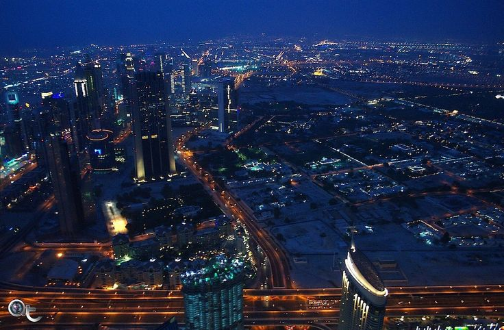 #dubai view from #burj_khalifa - #photo bby #andreaturno  #nikon #colors_of_the_desert #colors_of_uae