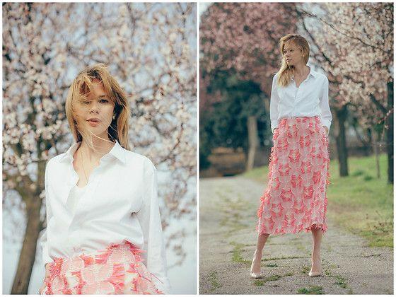 Get this look: http://lb.nu/look/8636133  More looks by Anastasiia Masiutkina: http://lb.nu/anastasiiamas  Items in this look:  Nadya Dzyak Skirt, Handmade Shirt   #chic #elegant #romantic #eatdresstravel #anastasiiamasiutkina #streetstyle #fashionblogger #fashionista #natashaishenko