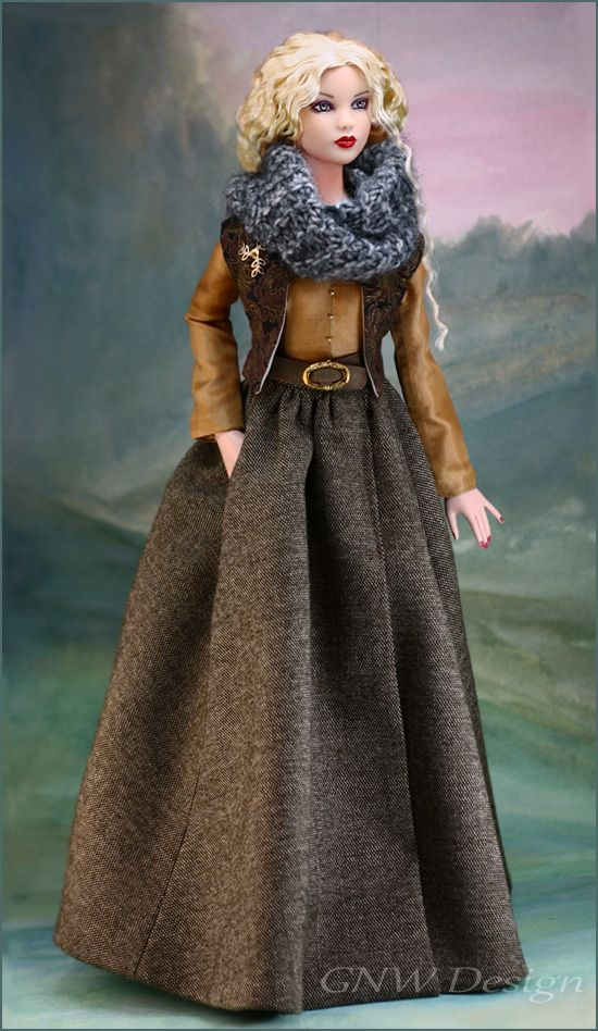 LUAIDH (Loved One) for Tonner Antoinette and Cami Sized Dolls by greatnorthwoodsdesign.com
