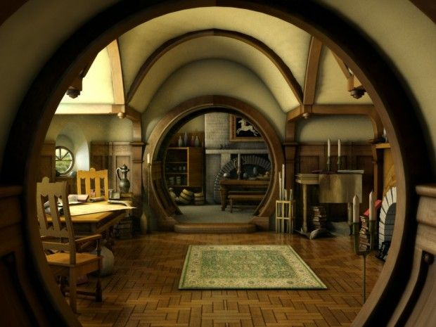 The Hobbit is a themed public house located in the Bevois Valley area of Southampton, England [1st of 4 pins]