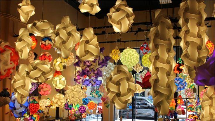 Лампы горит дизайн боке лампы психоделический 4 размеры шелковой ткани холст печать плакатов