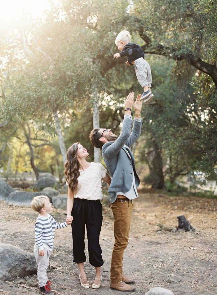 Throw him in the sky! Photo by Jen Huang (jenhuangblog.com) | Family Photography Santa Barbara