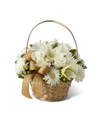 The Winter Wishes Basket Arrangement from timclarksflowers.com