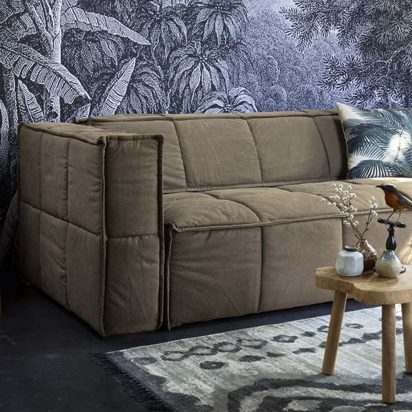 Khaki Brown Sofa • WOO Design