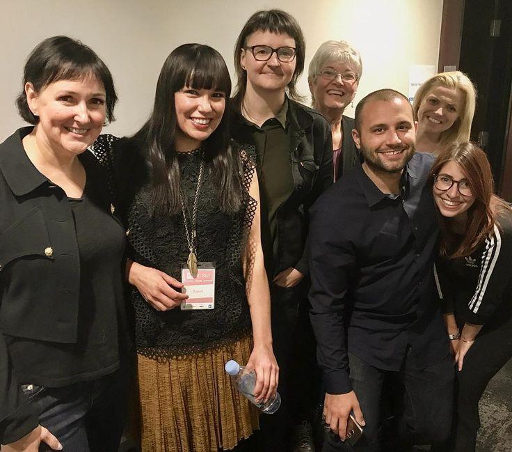 Got to meet this great group from National Speaker's Bureau yesterday at #wedaytoronto2017!  #twitter