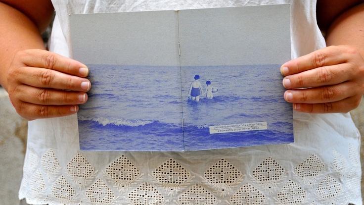 """Llibreta """"Badia de Pollença 1959"""" dins la col.lecció """"Una història romàntica a Mallorca"""" www.srferrer.com"""