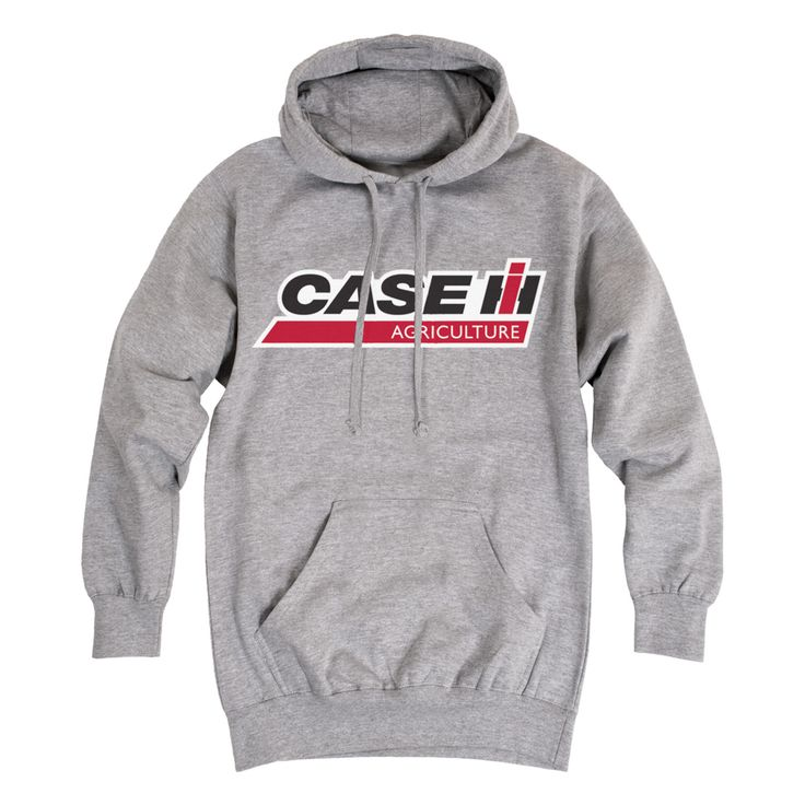 Athletic Heather Case IH Agriculture Logo Men's Hoodie