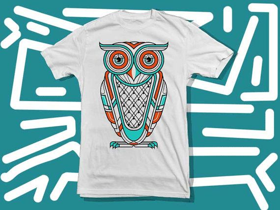 Owl Colour  City a 100 pre shrunk cotton branded by starwayshop, $18.50