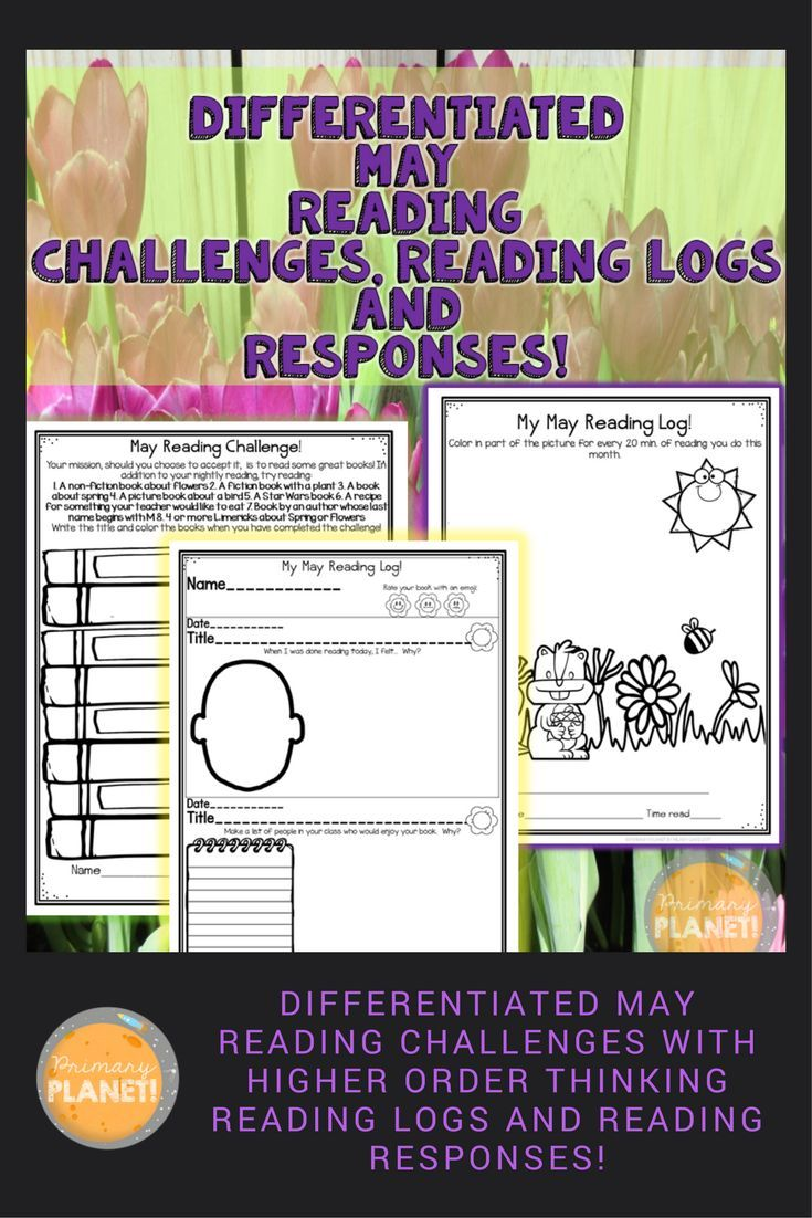Differentiated Reading Challenges, Higher Order thinking Reading Responses and Reading logs (for homework and in class).  Everything you need to help your students keep track of their reading!  Perfect for Independent reading!  Second and Third grade or higher first grade!