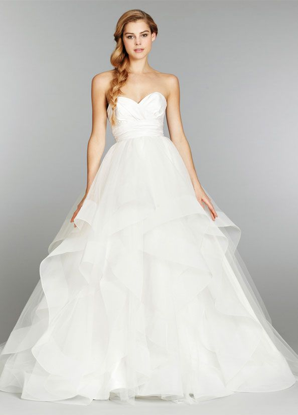 Bridal Gowns, Wedding Dresses by Hayley Paige - Style HP6358
