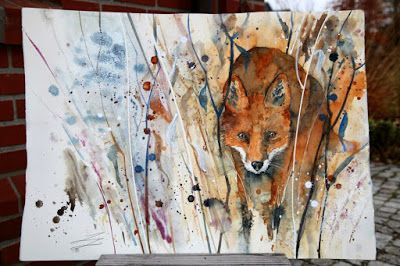 Fox - by Sarah Yeoman