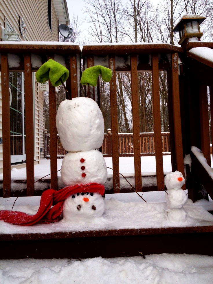 Best Winter Please Go Away Images On Pinterest Snowmen - 15 hilariously creative snowmen that will take winter to the next level 7 made my day