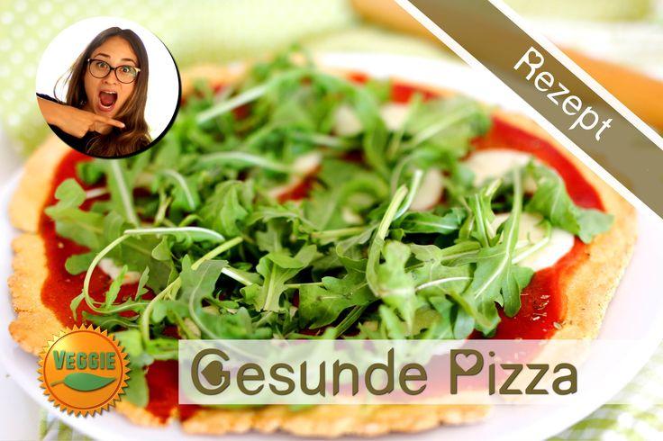 Gesunde Pizza selber machen - Glutenfrei - High Protein - Low Fat - Kalo...