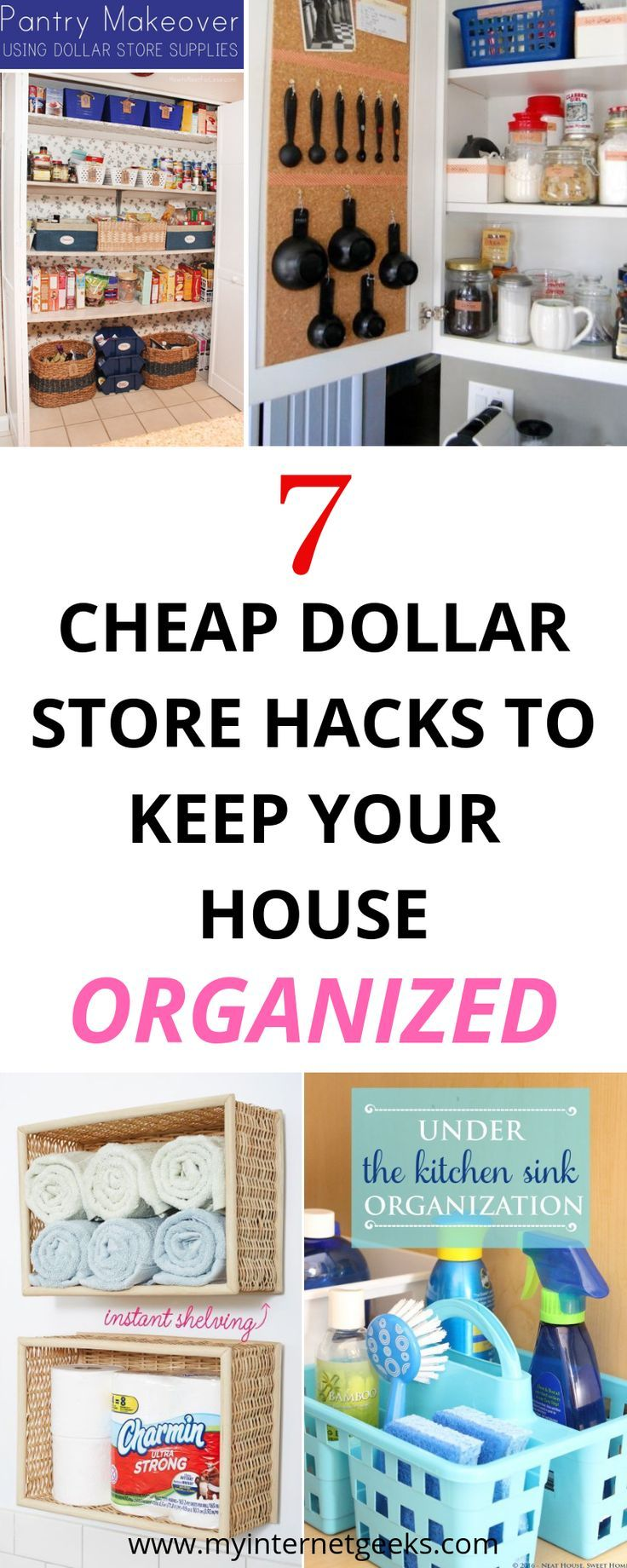7 Dollar Store Hacks that'll make your life so much easier