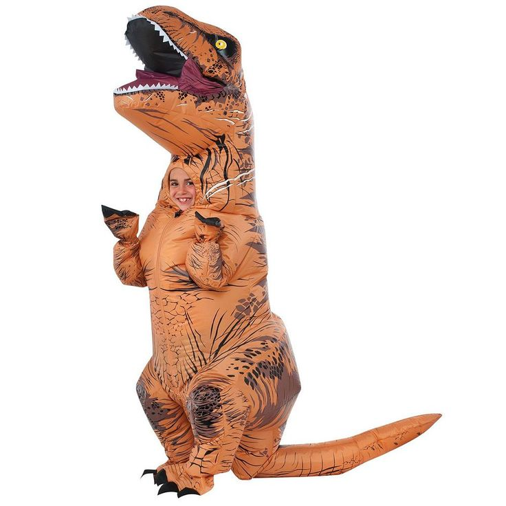 Jurassic World Inflatable T-Rex Costume - Kids, Multicolor