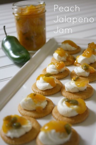 Easy Peach Jalapeno Jam // Life Anchored #PutItOnARitz #ad