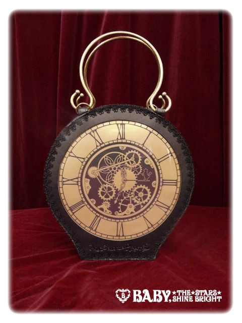 Lolibrary | Alice and the Pirates - Bags - Transparent A Gear Wheel Pochette
