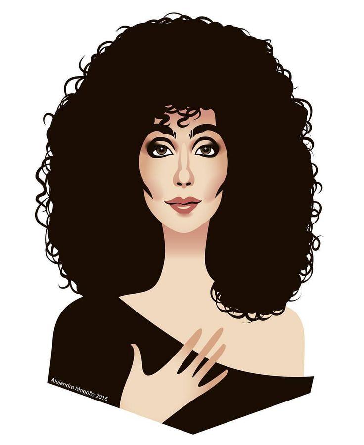 "Cher ""Moonstruck"""